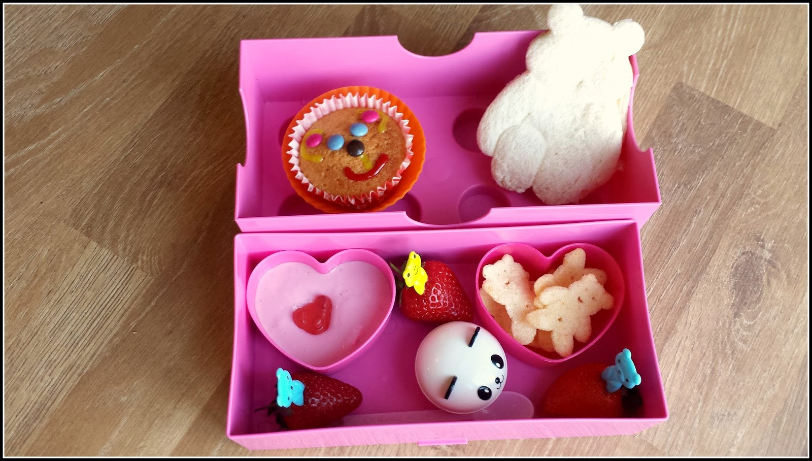 A bear inspired Bento lunchbox