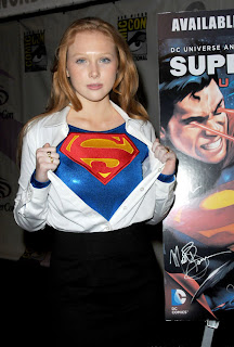 Molly Quinn 'Superman Unbound' at WonderCon 2013