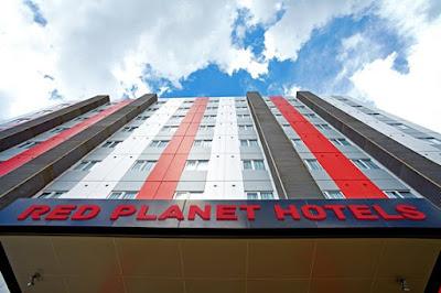 hotel red planet di kota bekasi