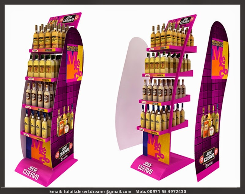 Exhibition Stand Items : Rent and sale display stands in uae wooden
