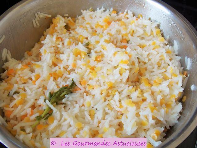 Recettes lentilles corail riz - Cuisine bio vegetarienne ...