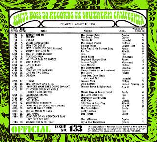 KHJ Boss 30 No. 133 - January 17, 1968