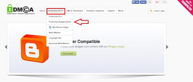 Apa Itu DMCA?? Dan Cara Memasang Widget DMCA Di Blog Sobat