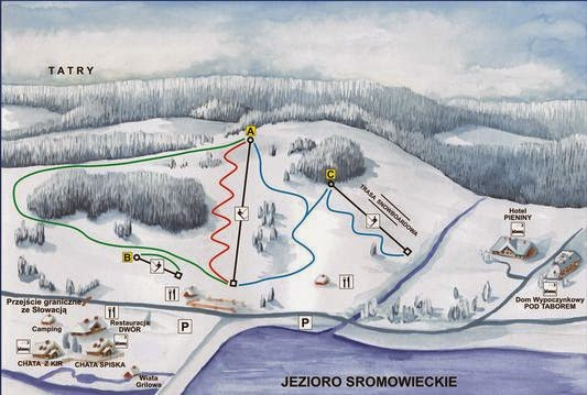 trasy narciarskie polana sosny