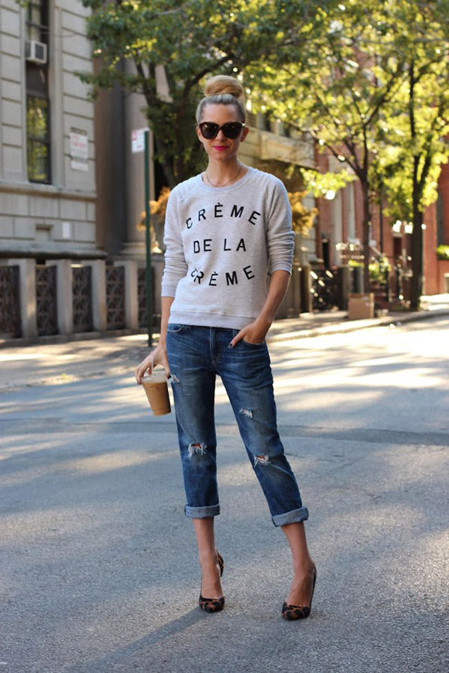 Sweatshirt Trend Felpa Chan