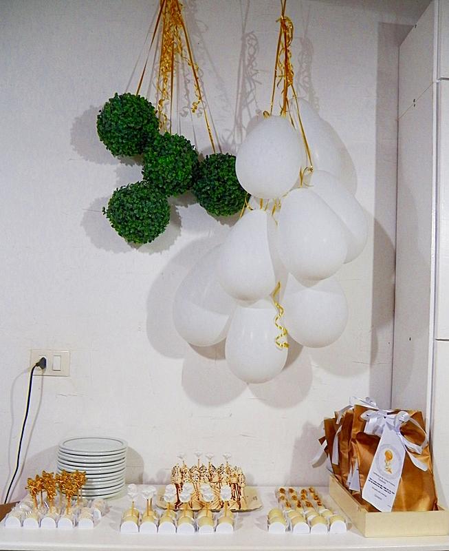 Decoraç u00e3o de mesa para Primeira Comunh u00e3o Projeto 25 #euquefiz Reciclar e Decorar Blog de  -> Decoração De Primeira Comunhão Simples Com Flores