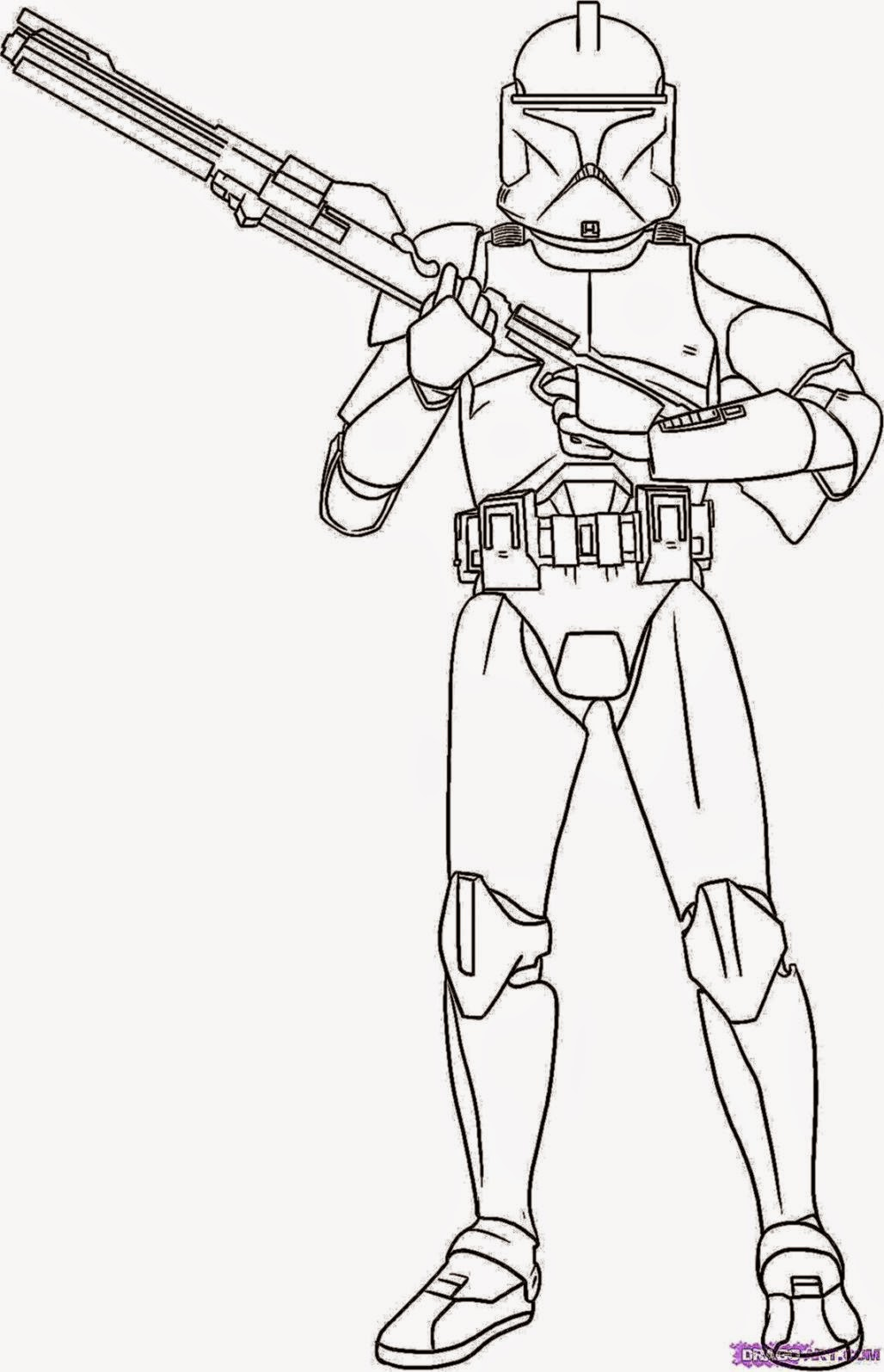 commander cody coloring pages - photo#1