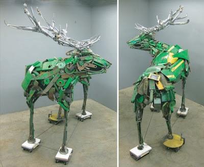 esculturas metalicas