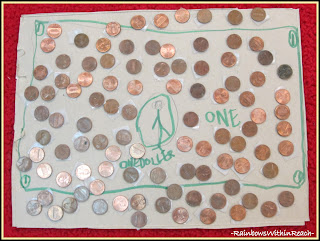 photo of: 100 Objects in Kindergarten (100 Pennies)