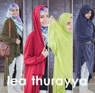 LEA THURAYYA - telekung cardigan -