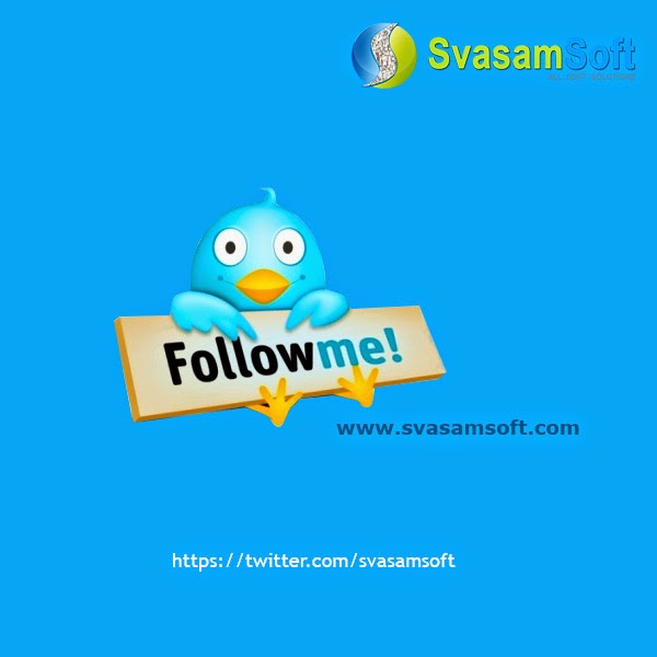 Svasamsoft Twitter