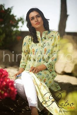 Hina Mirza Summer Lawn Collection 2015