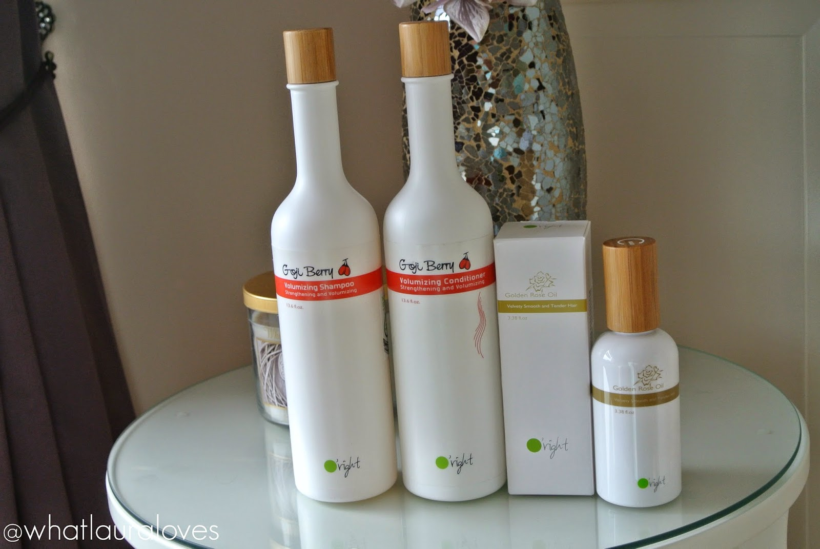 O'Right Goji Berry Volumizing Shampoo Conditioner and Hair Oil
