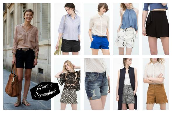 tendencias moda pantalones shorts bermudas primavera verano 2015