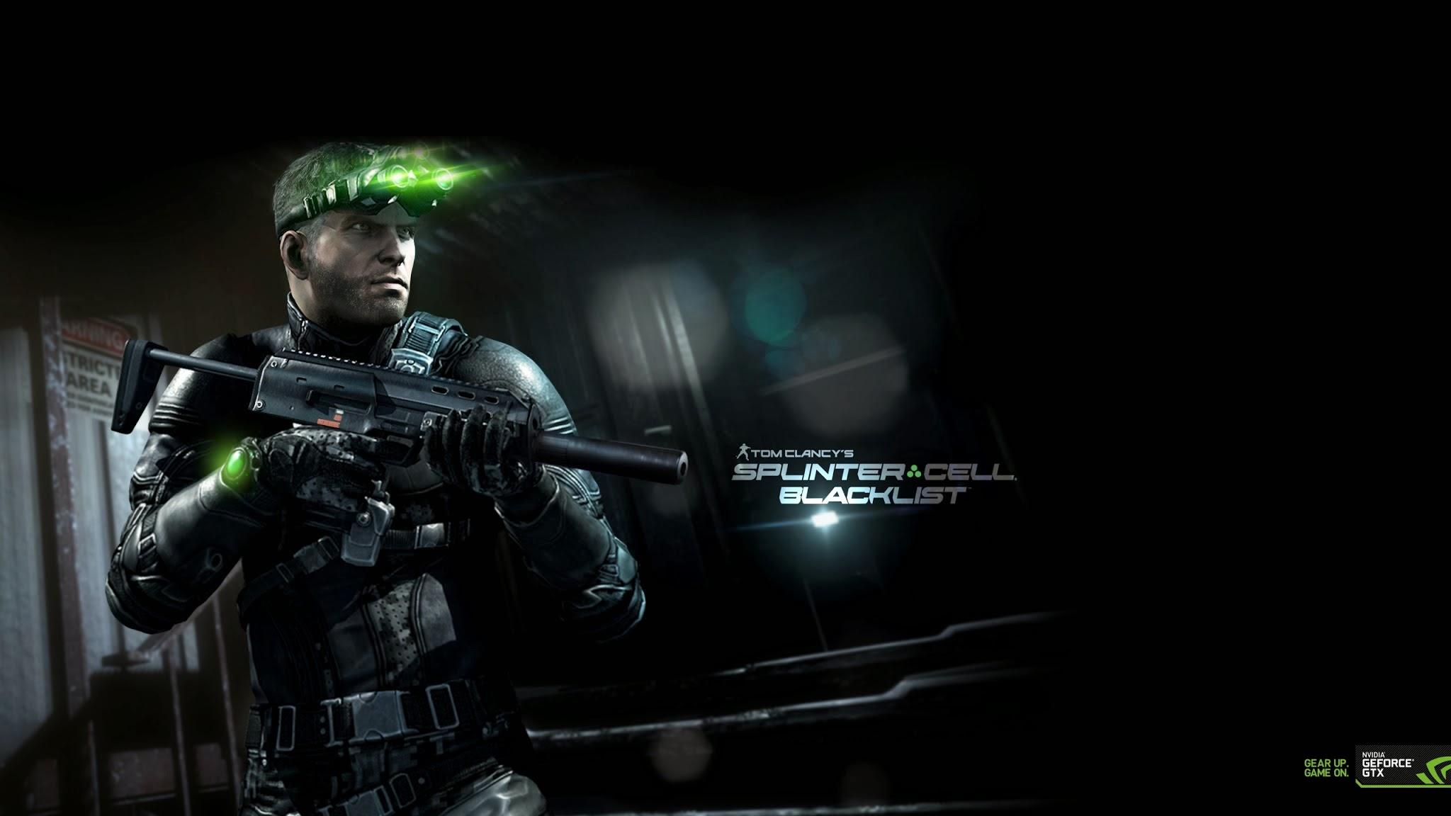 splinter cell blacklist video game nvidia armed hd wallpaper