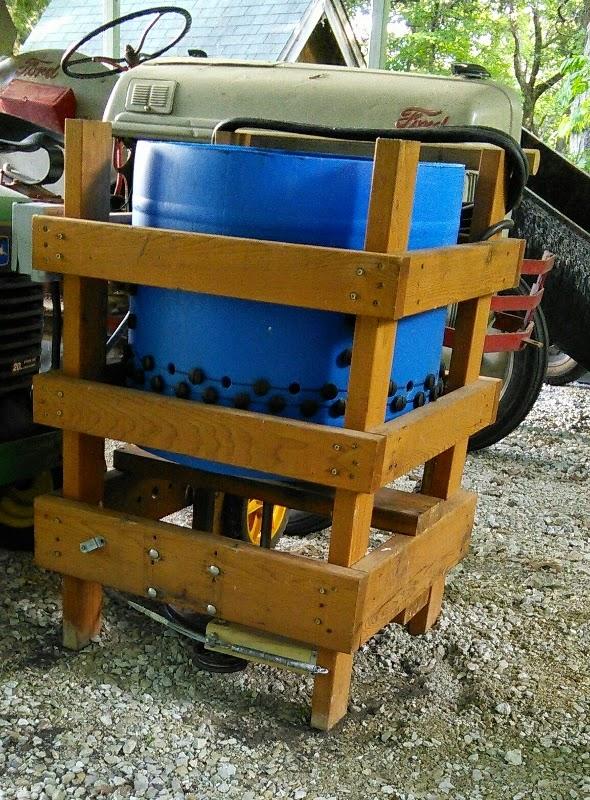 diy chicken plucker machine