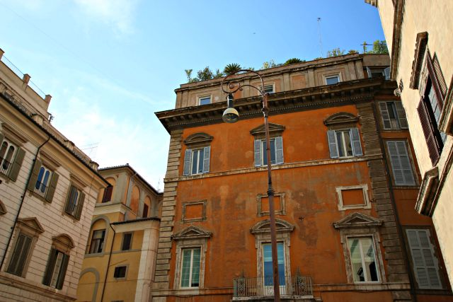 unterwegs zur piazza navona in Rom mit Kindern