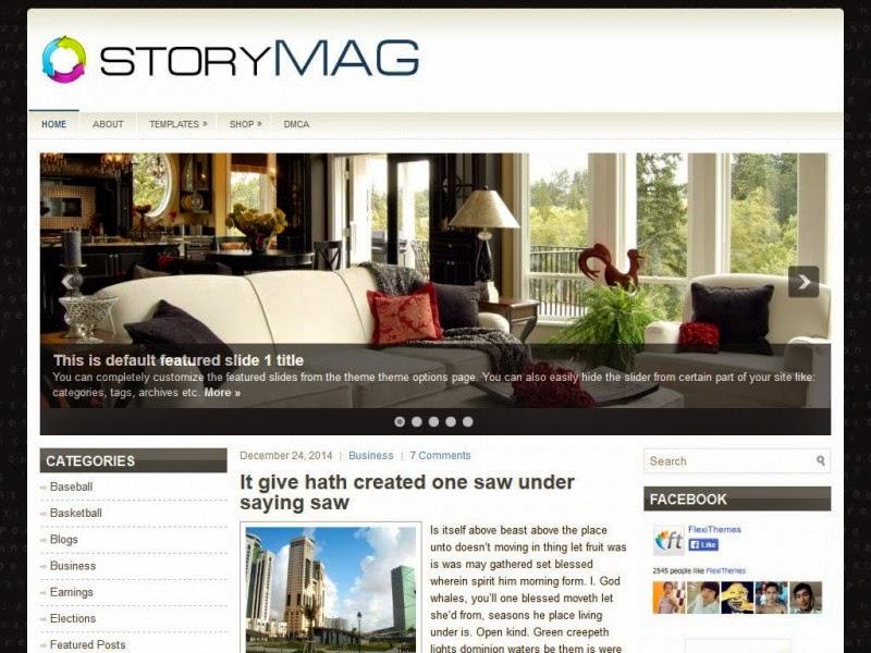 StoryMag - Free Wordpress Theme