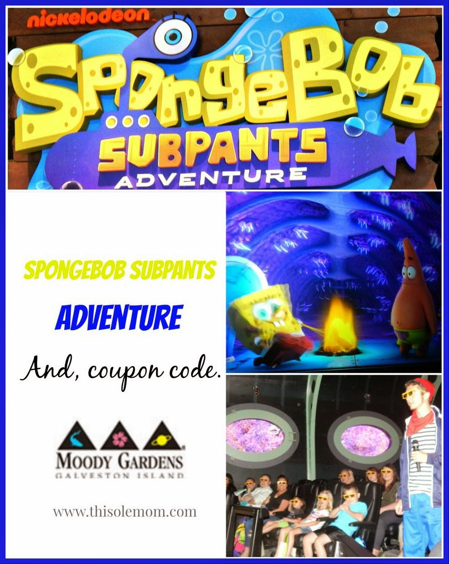 Nickelodeon SpongeBob SubPants Adventure U0026 Discount Coupon Code