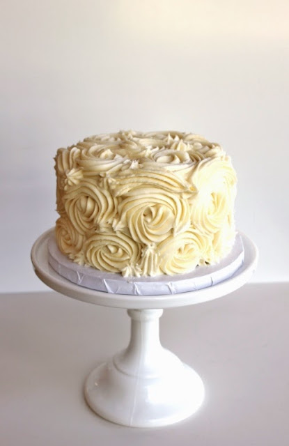 Large Rosette Cake Minneapolis