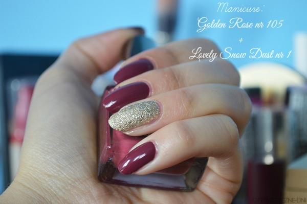 Manicure Piękne Bordo Na Jesień Delishe Beauty Blog Dla Kobiet