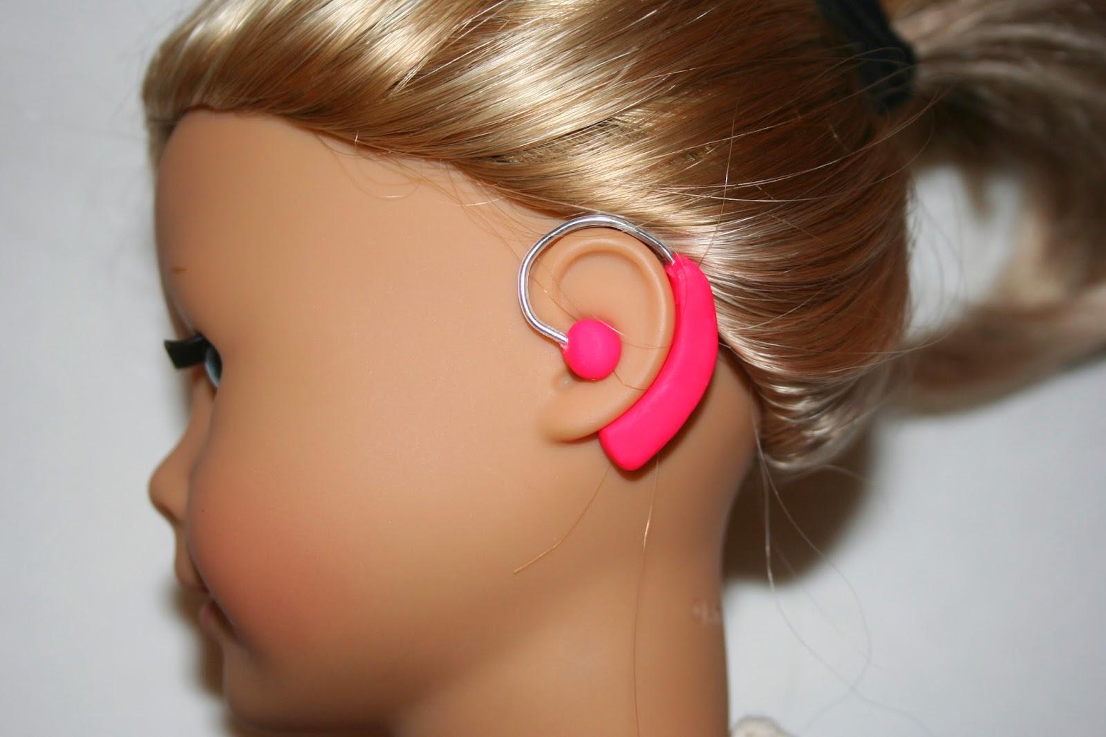 http://myagdollcraft.blogspot.com/2014/01/hearing-aid-for-american-girl-doll.html