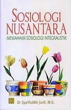 toko buku rahma: buku SOSIOLOGI NUSANTARA, pengarang syarifuddin jurdi, penerbit kencana