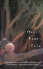 Portada de Traición (Orson Scott Card)