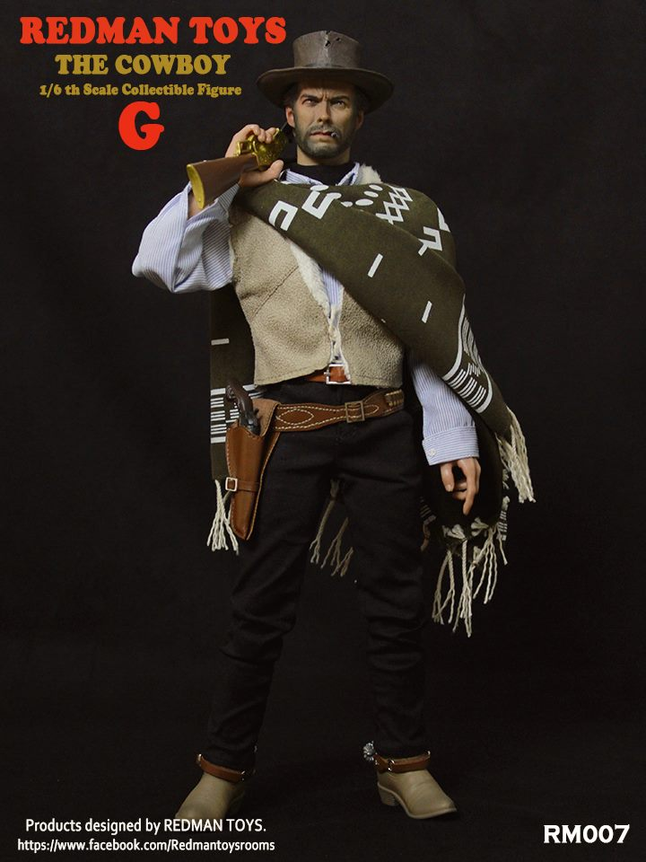 the Bad and the Ugly cowboy headsculp REDMAN TOYS 1//6 The Bad HEADPLAY The Good