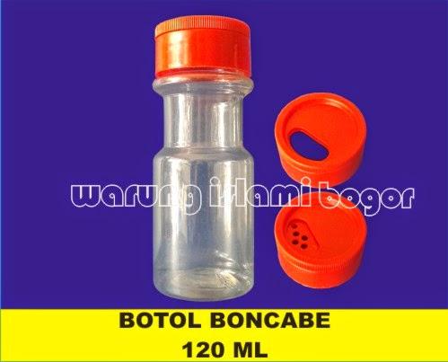 Jual Botol Boncabe 120ml Ukuran Besar
