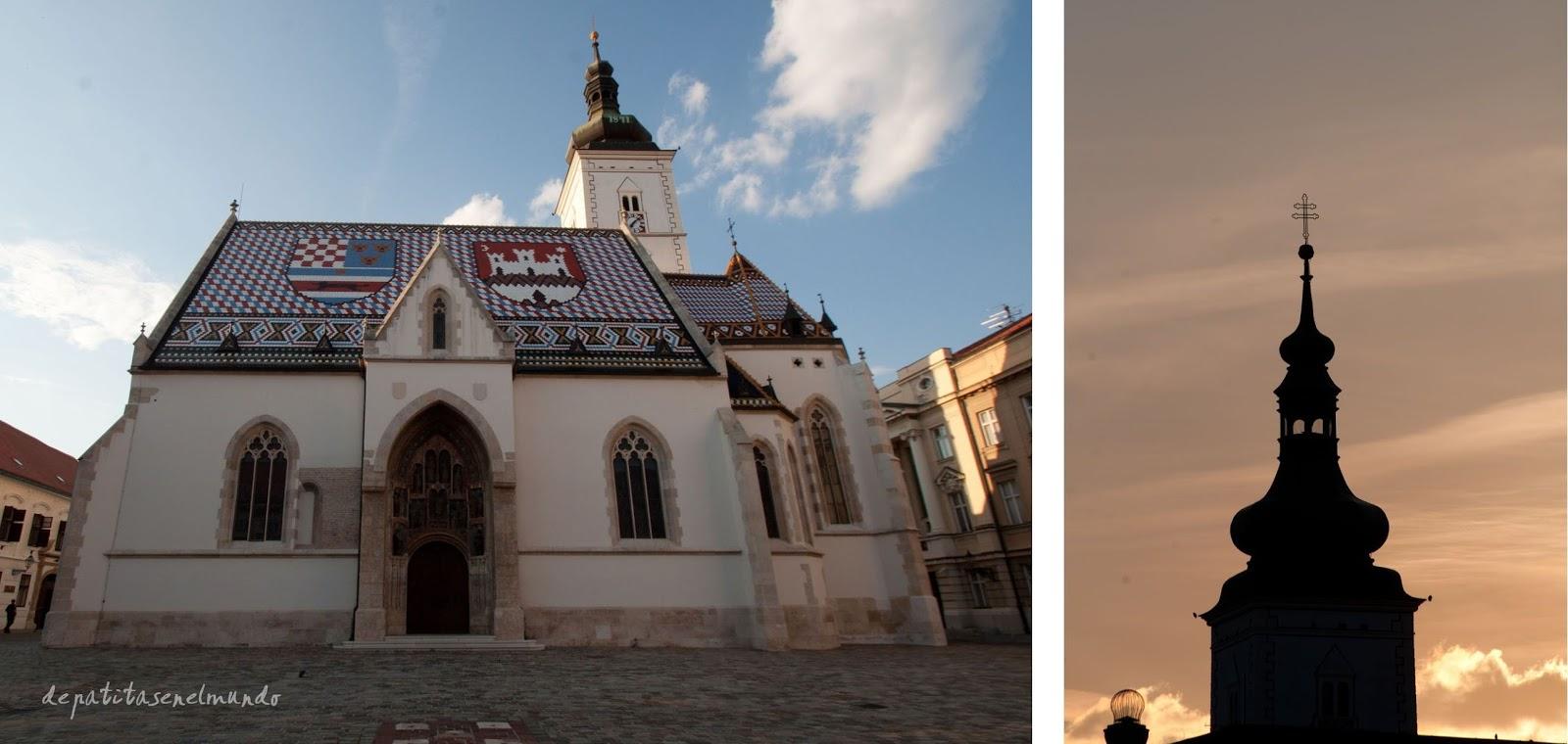 Iglesia de San Marcos en Zagreb