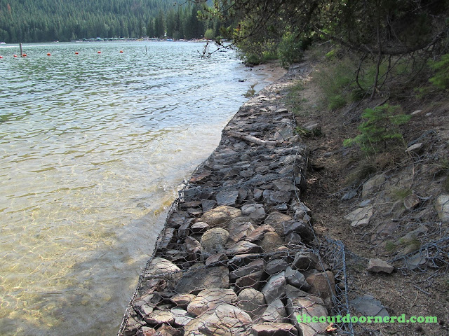 Outlet Campgrounds At Priest Lake, Idaho: Beach Area 2