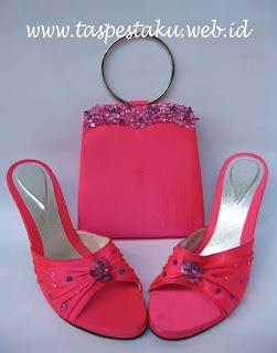 Tas Pesta, Clutch Bag, Sandal Pesta, Sepatu Pest