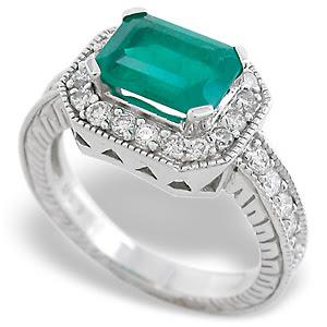 EmeraldRings whitegoldrings gold rings engagementrings goldrings stonerings stonejewellery252892529 - Emerald Rings