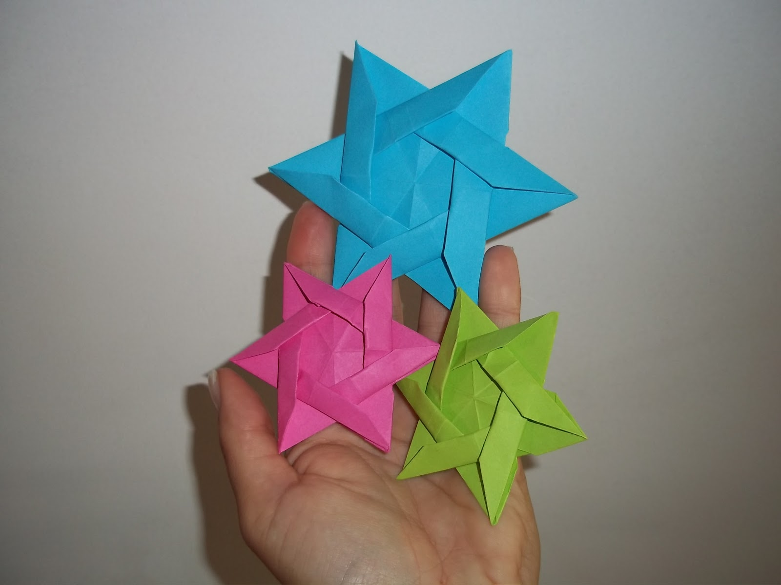 origami z ma?ych karteczek
