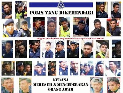 polis-polis keparat, polis jahat