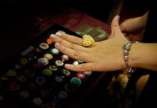 Button Ring, Make it, Make it Handmade revolution