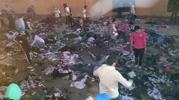 سقوط 22 قتيلا في اشتباكات الأمن وأولتراس الزمالك