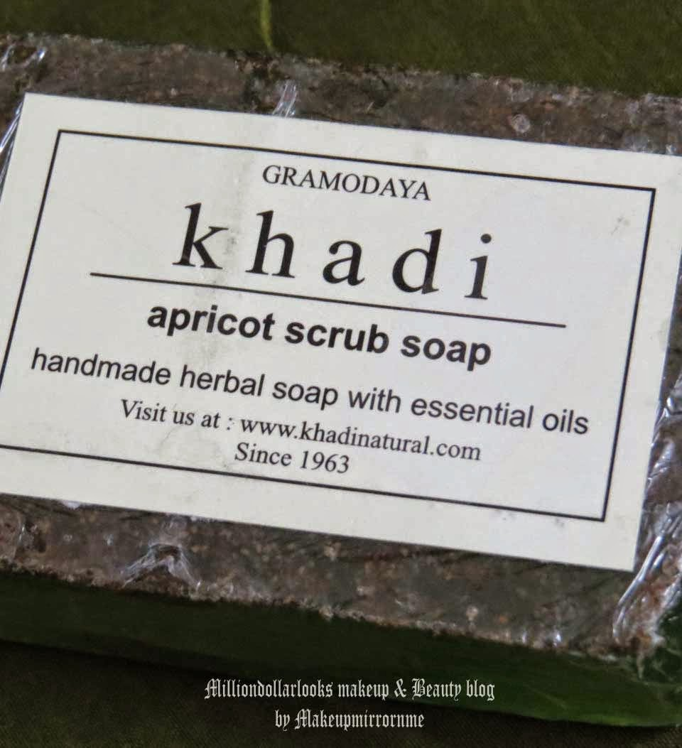 Khadi Apricot Scrub Soap Review & Pictures, Herbal soaps, Khadi herbal soap range, Handmade soaps, Glycerin based soaps review, Scrub soap review, Indian herbal skincare brands, Khadi herbals range review, Khadi herbals product range and review, Indian beauty blog, Indian makeup and beauty blog, Bath products, Best affordable soaps from khadi herbals india, Apricot scrub soap review, Product review