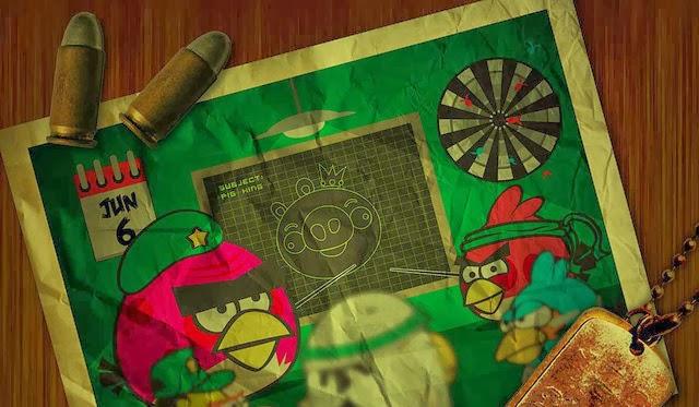 An Angry Birds Parody