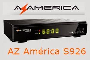 Atualização para o receptor Azamerica S926 HD V1.98