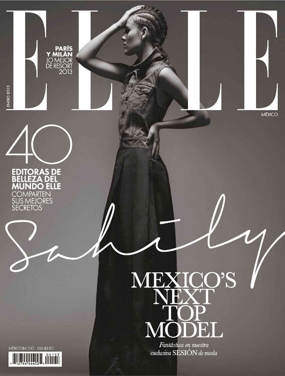 LA GANADORA DE MEXICO'S NEXT TOP MODEL CYCLE 3 EN ELLE MEXICO!
