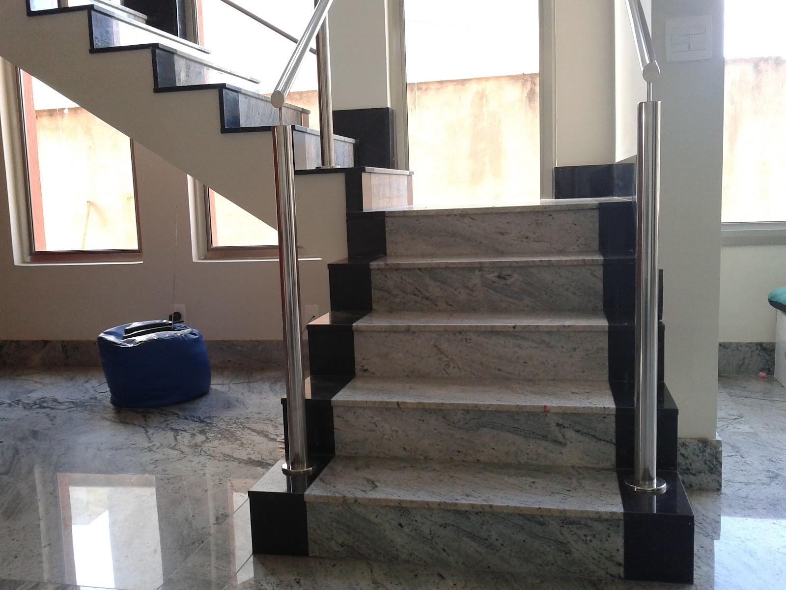 Download Escada Revestida Em Granito Branco Dallas » Triunfo Picture #7C644F 1600x1200 Banheiro Com Granito Aqualux