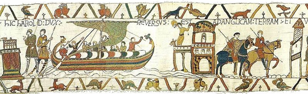 Bayeux tapestry, tapestry, embroidery, storytelling embroidery, storytelling through embroidery, narrative needlework, narrative embroidery