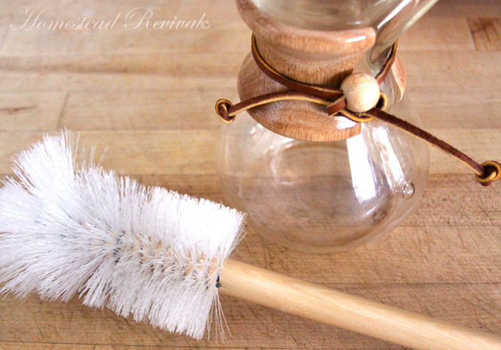 Chemex Coffee Maker Cleaning Brush : Homestead Revival: Best Coffee Maker On Grid or Off?