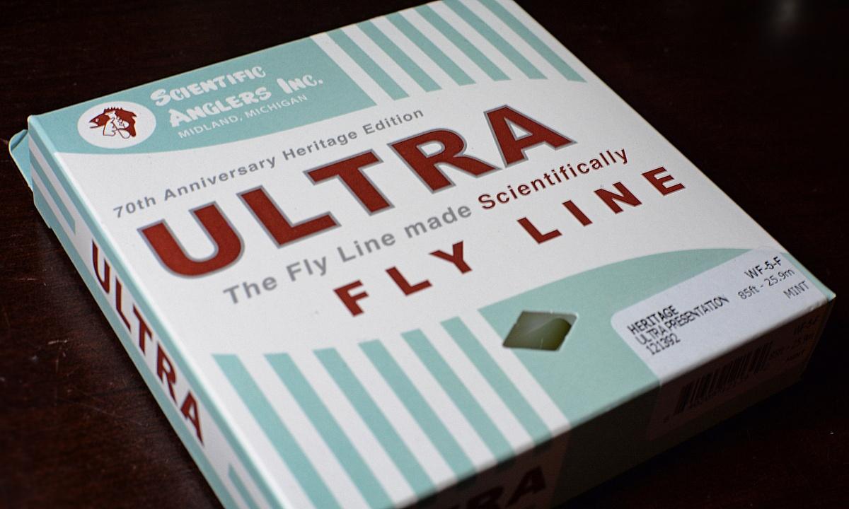 Scientific Anglers Heritage Ultra Presentation 70th Anniversary Fly Line WF4,5,6