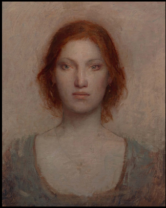 Red hair in Paintings: May 2013