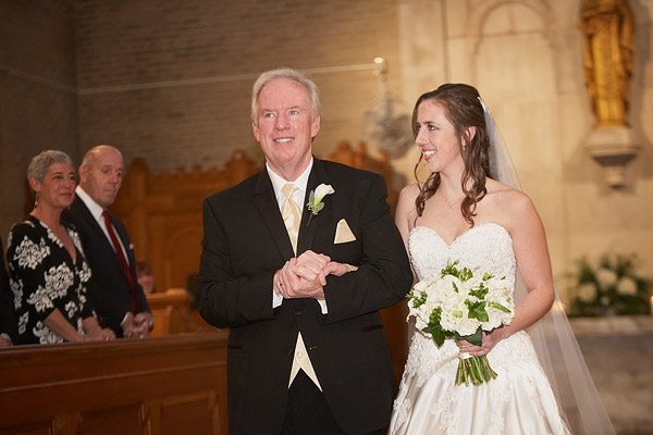 Aldrich Mansion wedding ceremony
