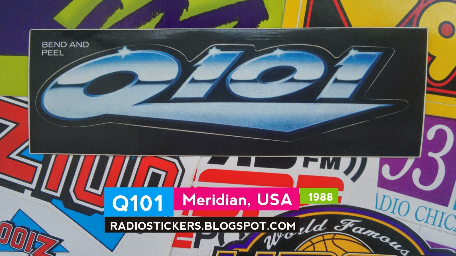 RADIO station stickers... and more!: 2014