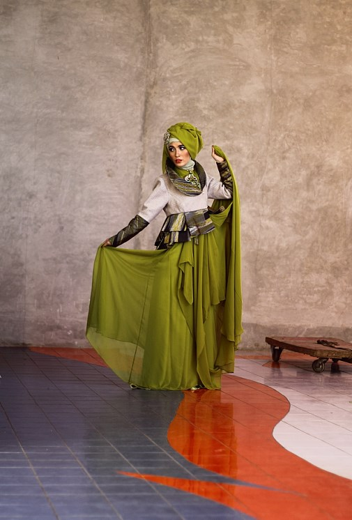 tutorial hijab transparant